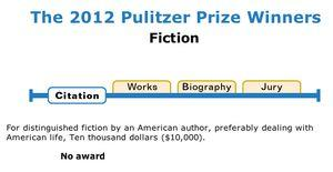 We Need a Fiction Pulitzer in 2013