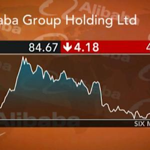 Alibaba Misses Out on China Link Rally