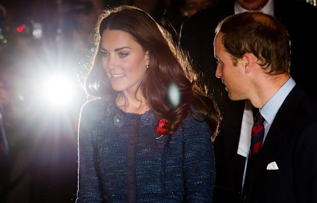 Kate Middleton Wears Rebecca Taylor To Honour The Scott-Amundsen Centenary Race