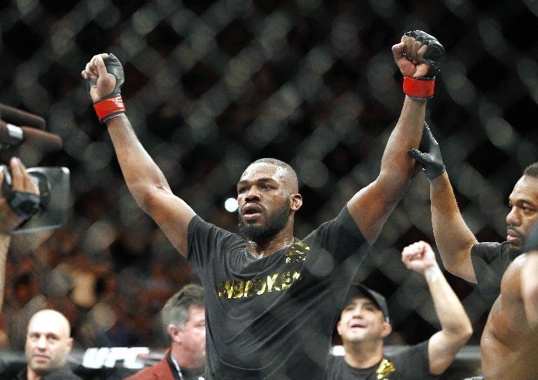 UFC replaces nixed McGregor fight with Jones-Cormier rematch