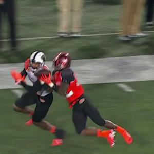 Reese's Senior Bowl: Miami (Ohio) cornerback Quinten Rollins' interception