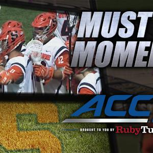 #4 Syracuse Takes Down #6 Duke To Win ACC Title | ACC Must See Moment