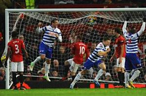 Manchester United 3-1 QPR: Hosts move top with trademark second-half comeback
