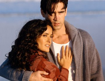 Salma Hayek and Colin Farrell in Paramount Classics' Ask the Dust