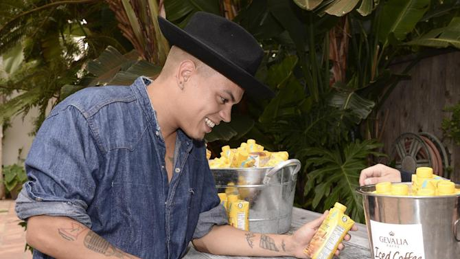 Evan Ross attends his album release and pre-birthday celebration at the Kia Beach House powered by Gevalia Iced Coffee with Almond Milk on Tuesday, July 7, 2015, in Malibu, Calif. (Photo by Dan Steinberg/Invision for Talent Resources/AP Images)