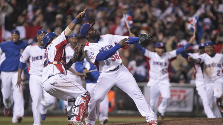 Baseball: World Baseball Classic-Dominican Republic vs Puerto Rico
