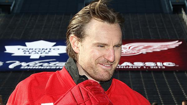 Detroit Red Wings defenseman Niklas Kronwall talks about the 2013 Winter Classic against the Toronto Maple Leafs