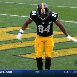 Antonio Brown touchdown celebration dance