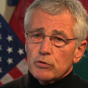 Hagel: Troops won't stay in Afghanistan without agreement