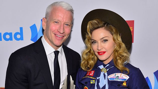 Watch Madonna Honor Anderson at GLAAD Awards