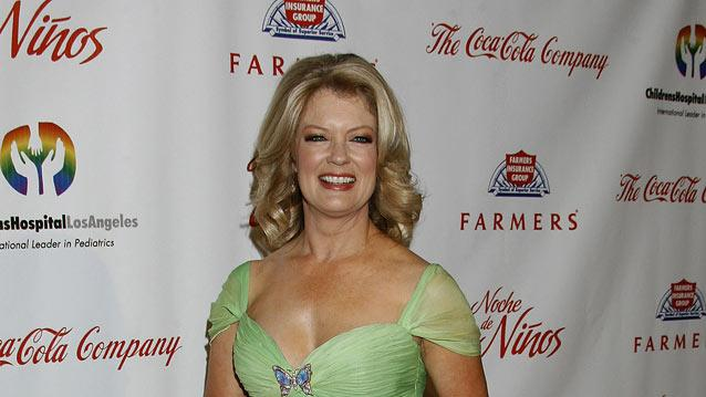 "Mary Hart arrives at the 3rd Annual ""Noche de Ninos"" Gala at The Beverly Hilton Hotel on May 9, 2009 in Beverly Hills, California."