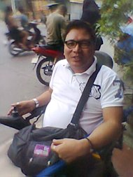 "Enrique ""Ike"" Ampo, person with spinal cord injury (SCI). Photo by CONG B. CORRALES."