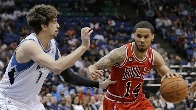 Augustin, Noah lead Bulls over Wolves, 102-87