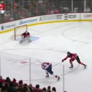 Keith Kinkaid Save on Tomas Fleischmann (08:18/1st)