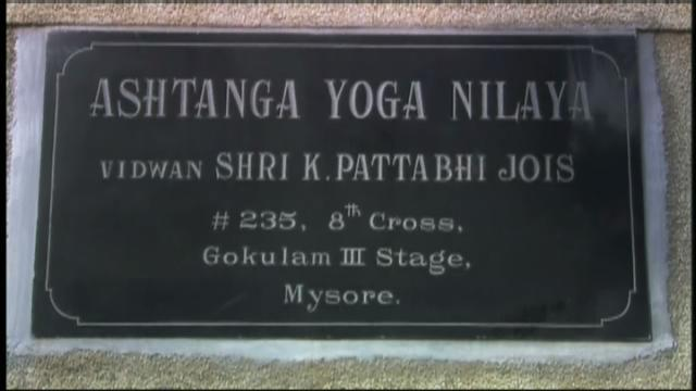 My first day of yoga