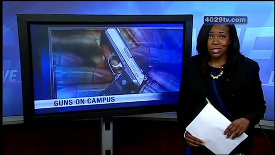Local college to vote on the issue of guns on campus