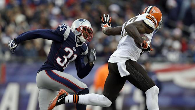Browns WR Gordon in minor car accident