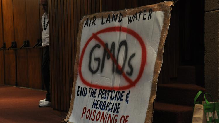 Environmentalists push for GMO labeling in Hawaii