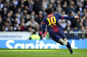 Messi equals Di Stefano's Clasico goals record