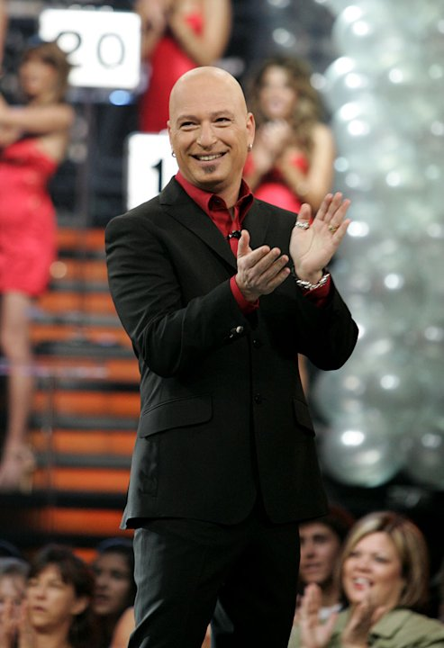 Host Howie Mandel on Deal or No Deal.