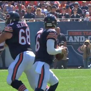 Green Bay Packers quarterback Aaron Rodgers on Chicago Bears quarterback Jay Cutler's situation in Chicago