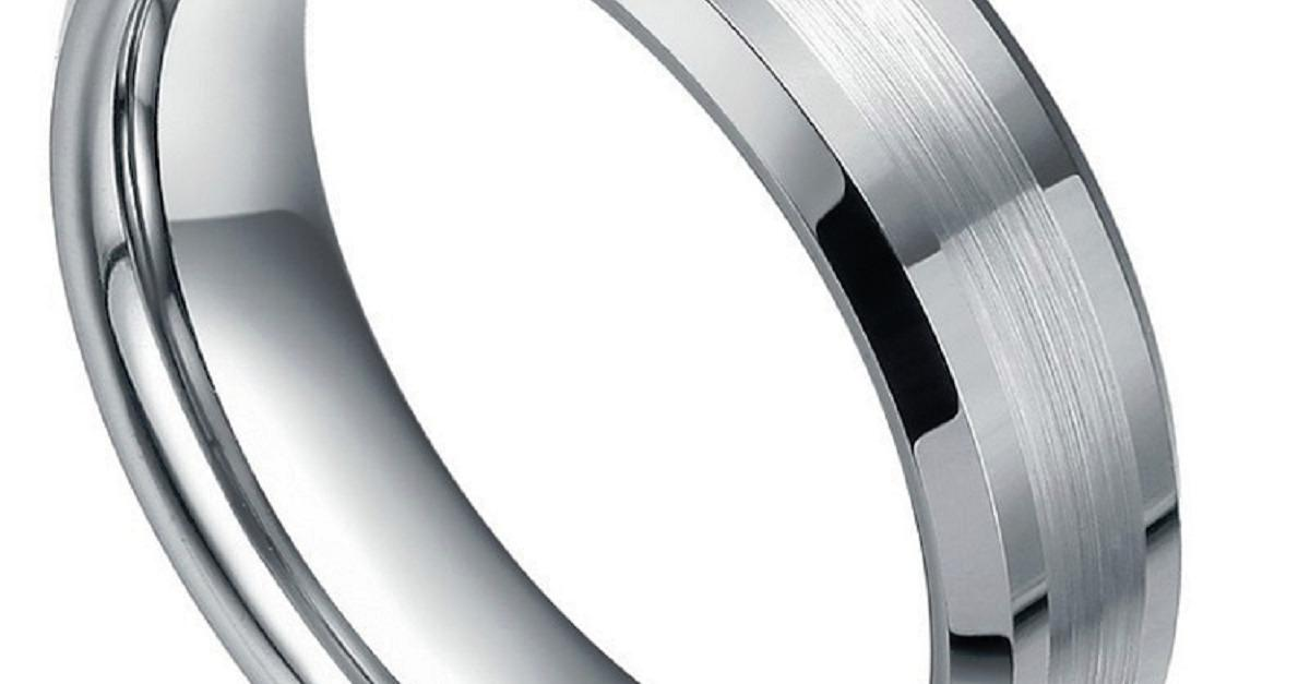 Solid Tungsten Wedding Bands - $50 Free Shipping