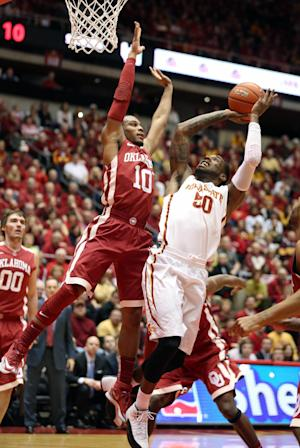 No. 16 Iowa State beats No. 23 Oklahoma 81-75