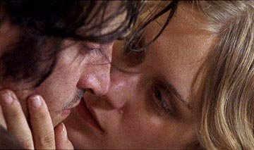 Vincent Gallo, left, and Chloe Sevigny in 'The Brown Bunny'