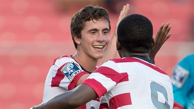 Quintet of New York Red Bulls products headlines US U-18 roster named for 2013 Milk Cup