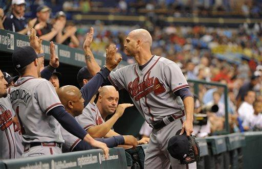 Braves' Hudson pitches another gem against Rays
