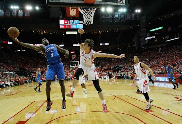 Oklahoma City Thunder v Houston Rockets - Game Six