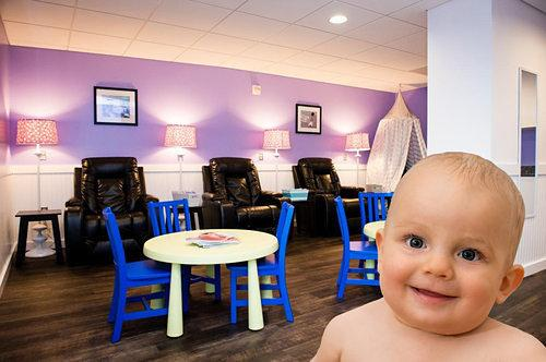 Mommy Amenities: Get an Inside Look at Nationals Park's New Nursing Lounge