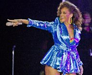 FILE - In this Oct. 5, 2011 file photo, singer Rihanna performs at the o2 arena in east London, as part of her 2011 &quot;Loud&quot; tour. Rihanna has topped the charts with a number of dance-flavored gems, from We Found Love to Only Girl (In the World) to &quot;S&M.&quot; (AP Photo/Joel Ryan, file)