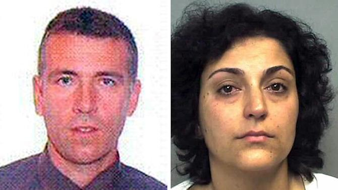 This is an undated handout photos issued by England's Hampshire Police on Monday Sept. 1, 2014, of Brett King and Naghemeh King, the parents of Ashya King, who have legal proceedings against them continuing in Spain after they took the five-year-old brain cancer patient out of hospital without doctors' consent. Critically-ill 5-year-old boy Ashya King driven to Spain by his parents is receiving medical treatment for a brain tumor in a Spanish hospital as his parents await extradition to Britain, police said Sunday Aug. 31 2014. Officers received a phone call late Saturday from a hotel east of Malaga advising that a vehicle fitting the description circulated by police was on its premises. Both parents were arrested and the boy, Ashya King, was taken to a hospital, a Spanish police spokesman said. (AP Photo/Hampshire Police)