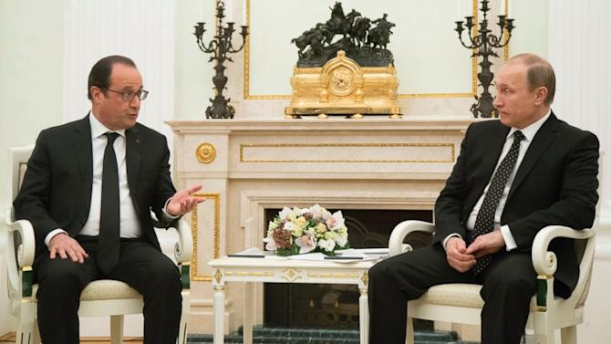 Russia Ready to Join France in Fight Against Terror, Putin Says After Meeting Hollande