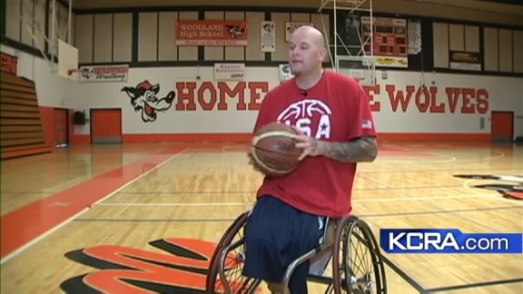 Woodland basketball, cancer survivor makes way to London