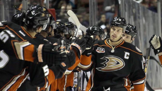 Ducks captain Getzlaf nearing return