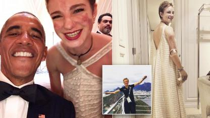 Paralympian Gets the Courage to Ask Obama for Selfie at State Dinner