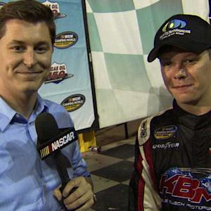 Erik Jones puts stamp on NASCAR history