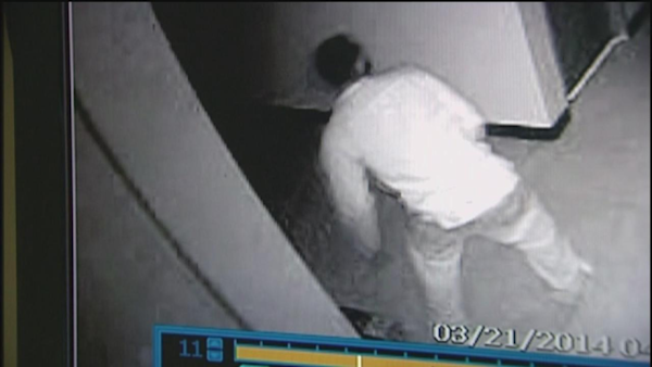 Church leaders watched burglars steal electronics