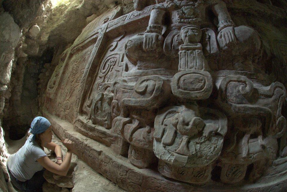 Guatemala: 'Extraordinary' Mayan frieze found B4cc05e88eafdc1a390f6a706700c347