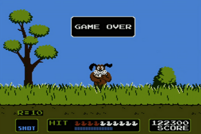 NES classic Duck Hunt is coming to the Wii U on Christmas Day