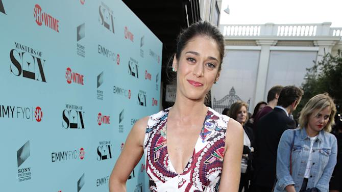 "Lizzy Caplan seen at the Showtime ""Masters of SEX"" ATAS FYC Panel on Tuesday, May 5, 2015, in Los Angeles. (Photo by Eric Charbonneau/Invision for Showtime/AP Images)"