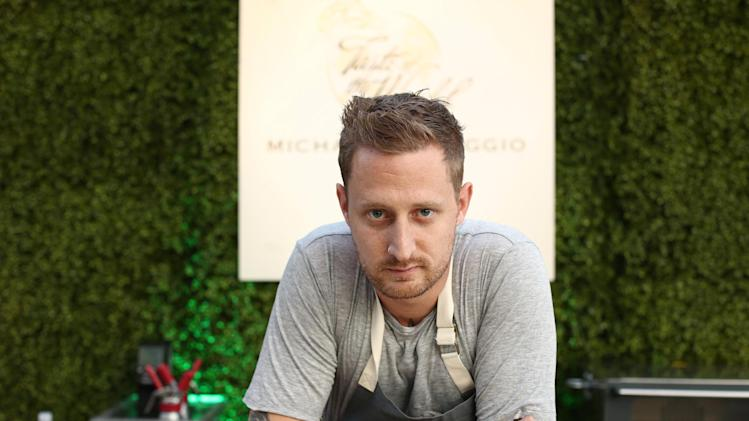 IMAGE DISTRIBUTED FOR BREEDER'S CUP - Chef Michael Voltaggio poses for a photo during Breeders' Cup A Taste of the World at The Huntington on Friday, Nov. 2, 2012, in San Marino, Calif.  (Photo by Matt Sayles/Invision for Breeders' Cup/AP Images)