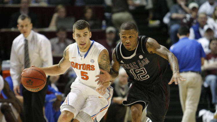 NCAA Basketball: Florida at Texas A&M