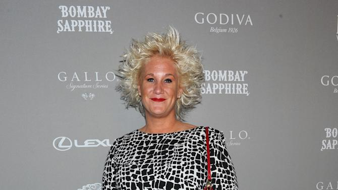 Chef Anne Burrell attends the 2013 FOOD & WINE Best New Chefs 25th anniversary celebration at Pranna in New York, Tuesday, April 2, 2013.   (Photo by Diane Bondareff/Invision for FOOD & WINE/AP Images)