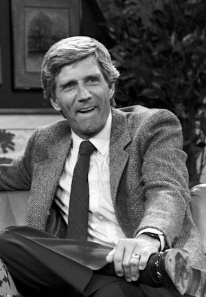 "FILE - This Aug. 1982 file photo shows Gary Collins. Gary Collins, an actor, television show host and former master of ceremonies for the Miss America Pageant, died Saturday, Oct. 13, 2012 in Biloxi, Miss. He was 74. During the 1980s, Collins hosted the Miss America pageant and the television shows ""Hour Magazine"" — for which he won a Daytime Emmy in 1983 — and ""The Home Show."" (AP Photo/File)"