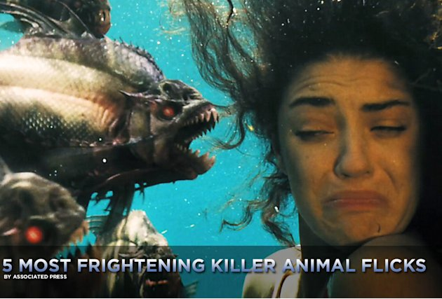 5 Most frightening killer animals title card 2010