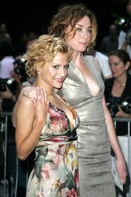 Brittany Murphy and Julianne Nicholson at the New York premiere of Revolution Studio's Little Black Book