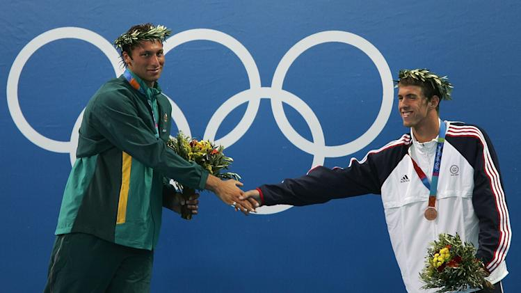 Mens 200m Free Medal Ceremony